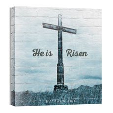Mod He Is Risen Cross