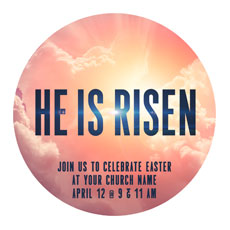 He Is Risen Bold