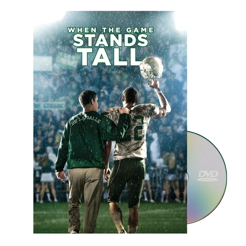 Movie License Packages, Fall - General, When The Game Stands Tall DVD License Standard, 100 - 1,000 people  (Standard)