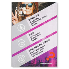 Alpha Youth Series Student Postcards (Pack of 50)