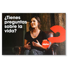 Alpha Got Questions? SPANISH Sophia Invite (pack of 100)