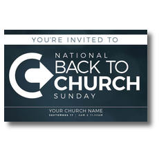 Back to Church Sunday Logo