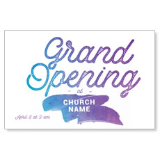 Grand Opening Paint