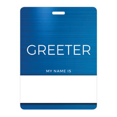 General Blue Greeter
