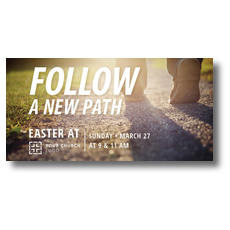 Follow a New Path