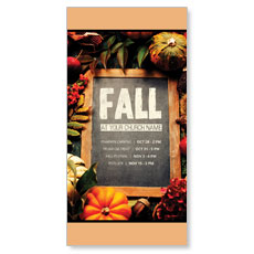 Fall Events Chalkboard