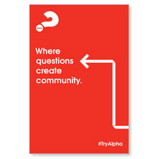 Alpha Arrow Create Community Red
