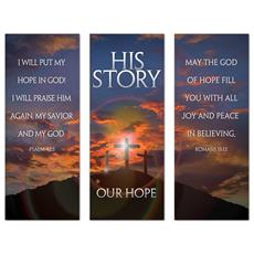 His Story Our Hope Triptych