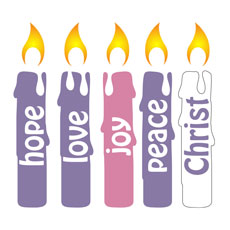 Advent Candles Set