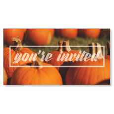 Pumpkin Event You're Invited