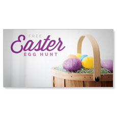 Easter Egg Hunt Basket
