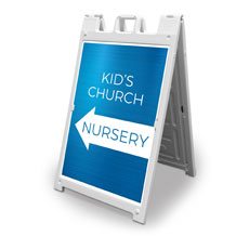 Blue Kids Church Nursery