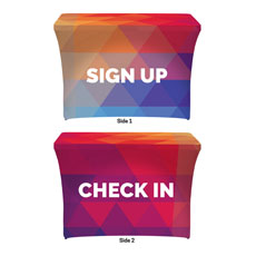 Geometric Bold SIgn Up Check In