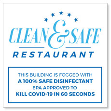 Clean and Safe Restaurant