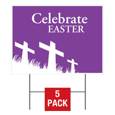 Easter Purple Flag
